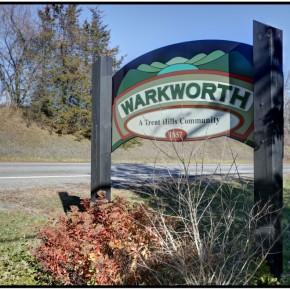 36 Warkworth Sign
